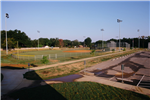 Baseball Field and Parking Lot at the Sports Complex